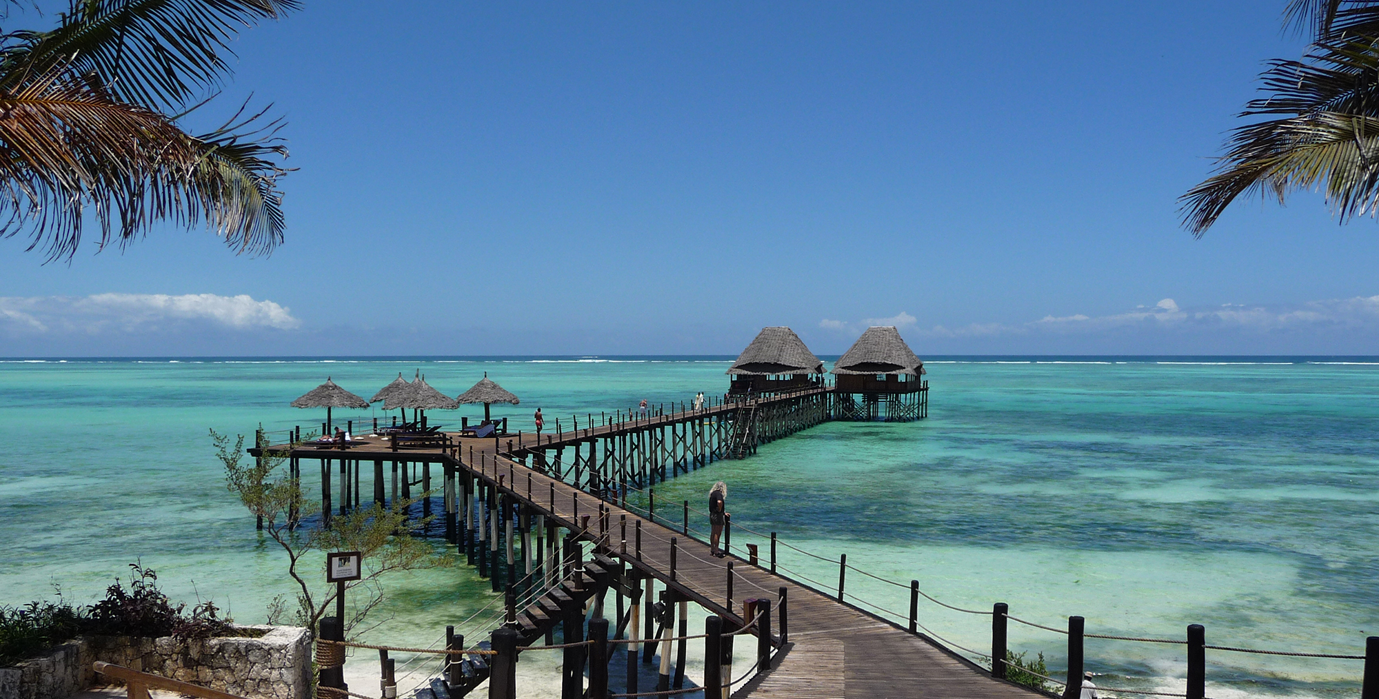 Resort jetty in Zanzibar ©Dave Abbott